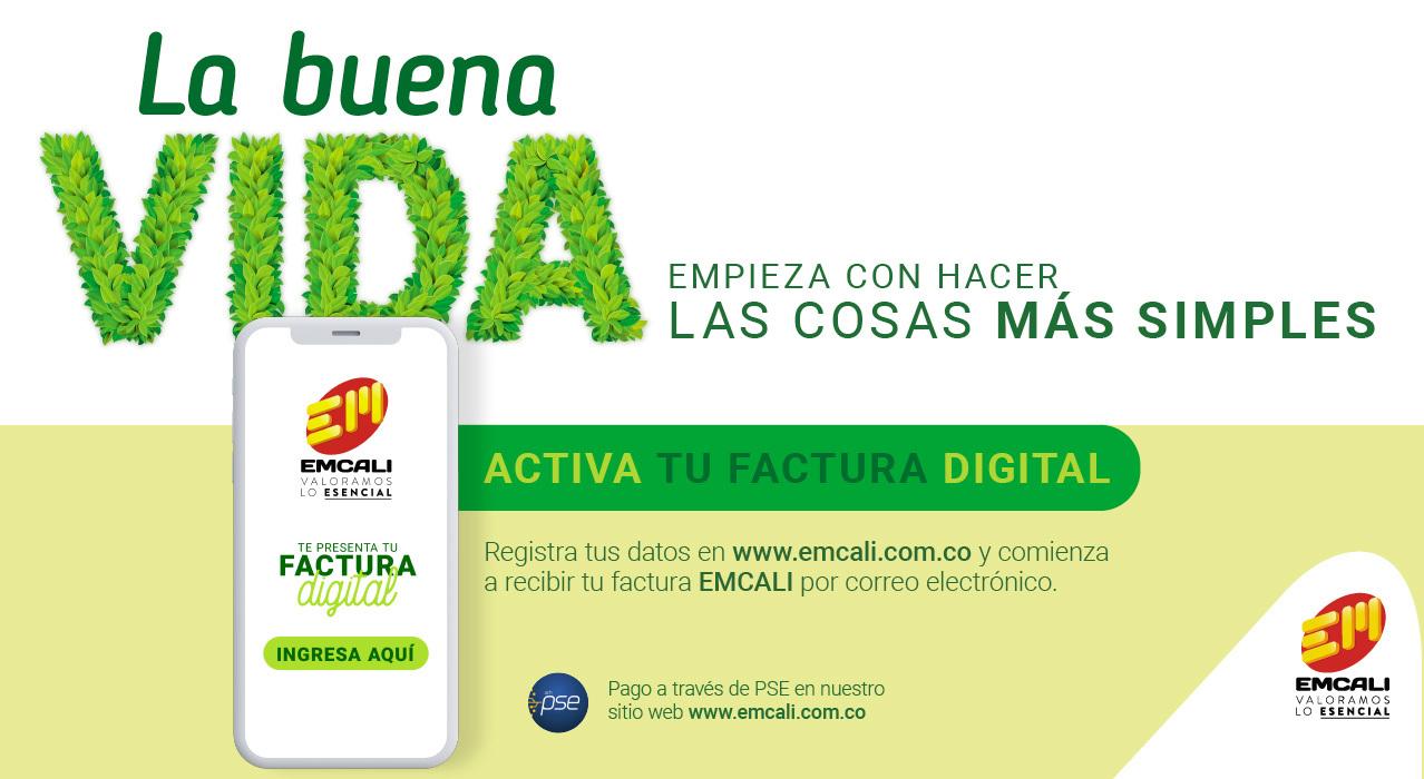 EMCALI te presenta tu Factura Digital